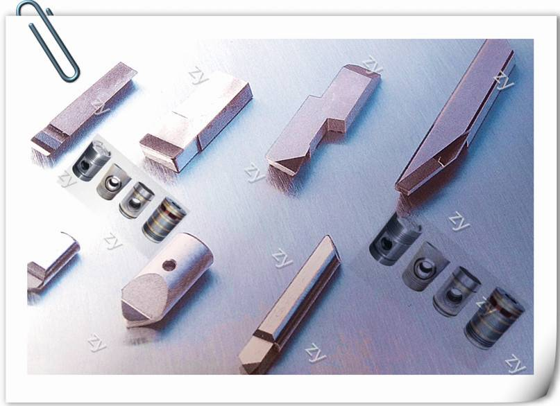 PCD boring inserts for piston,carbide roller
