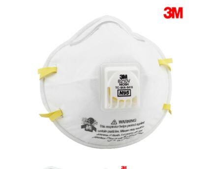3M Particulate Respirator 8210V, N95 Respiratory Protection