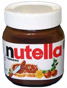 Ferrero Nutella Chocolate Cream in 15g Mini-sachets, 230g, 350g, 600g, 750g, 825g and 3kg Tins For S