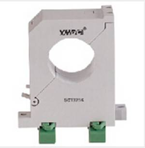 100A/20mA split-core din-rail or sub-plate mount current transformer
