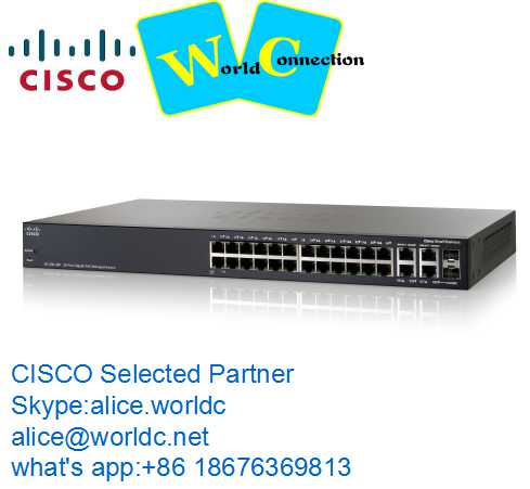 cisco ethernet switch WS-C2960X-24PD-L gigabit poe switch