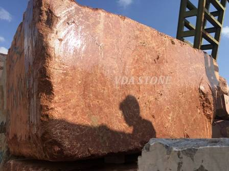 Imperial Red Marble Block