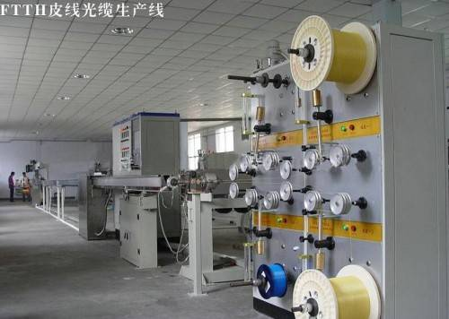 CE ISO9001 FTTH Terminal Optical Fiber Drop Cable Equipment