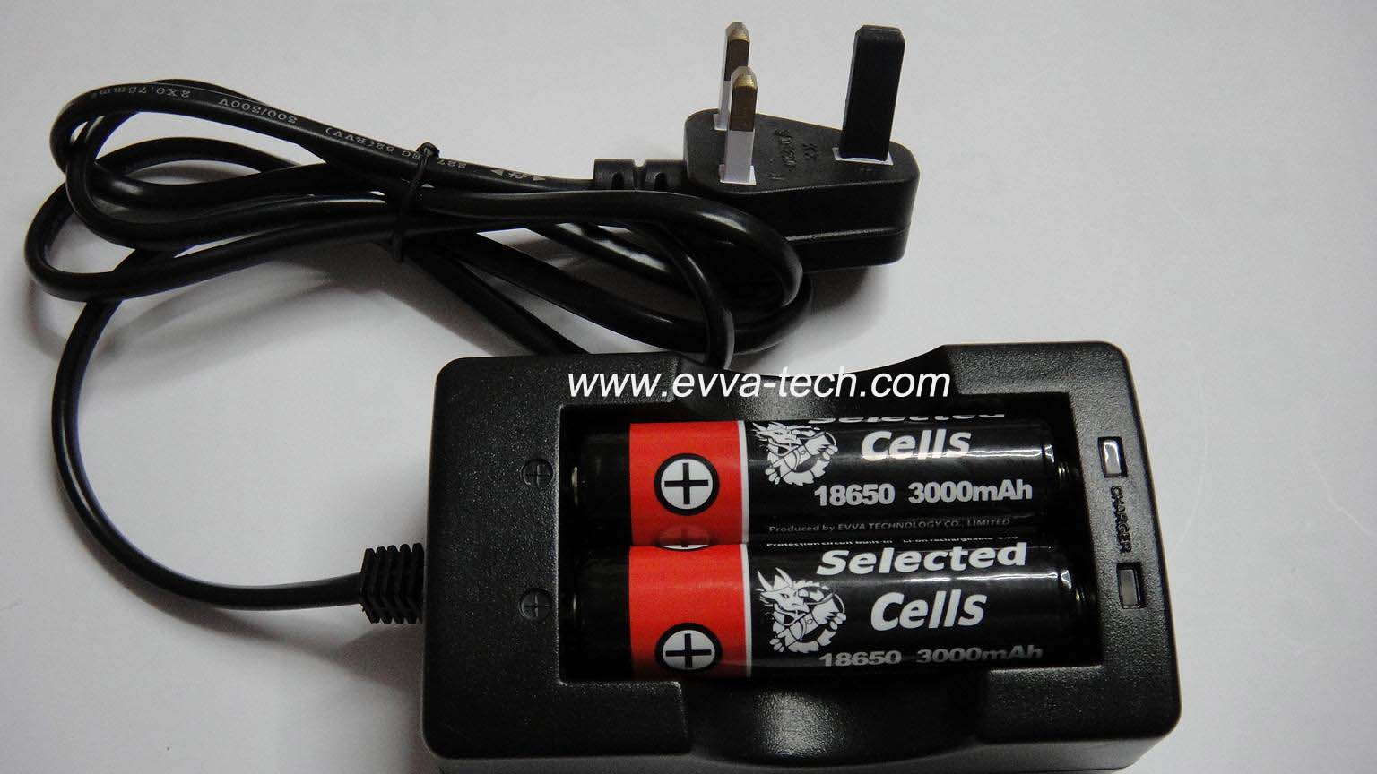 Flashlight Battery Charger for 18650 Li-ion battery