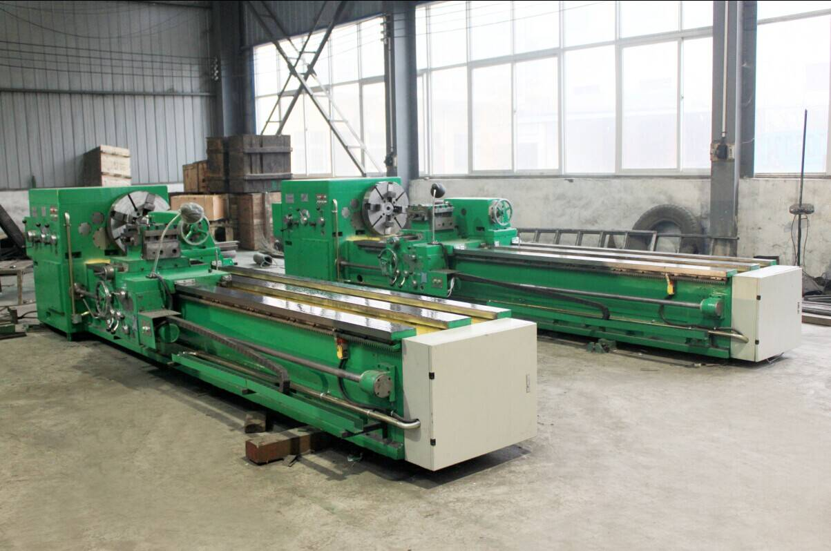 sewing machine lathe machinery cnc roll lathe machine CK8463 for sale