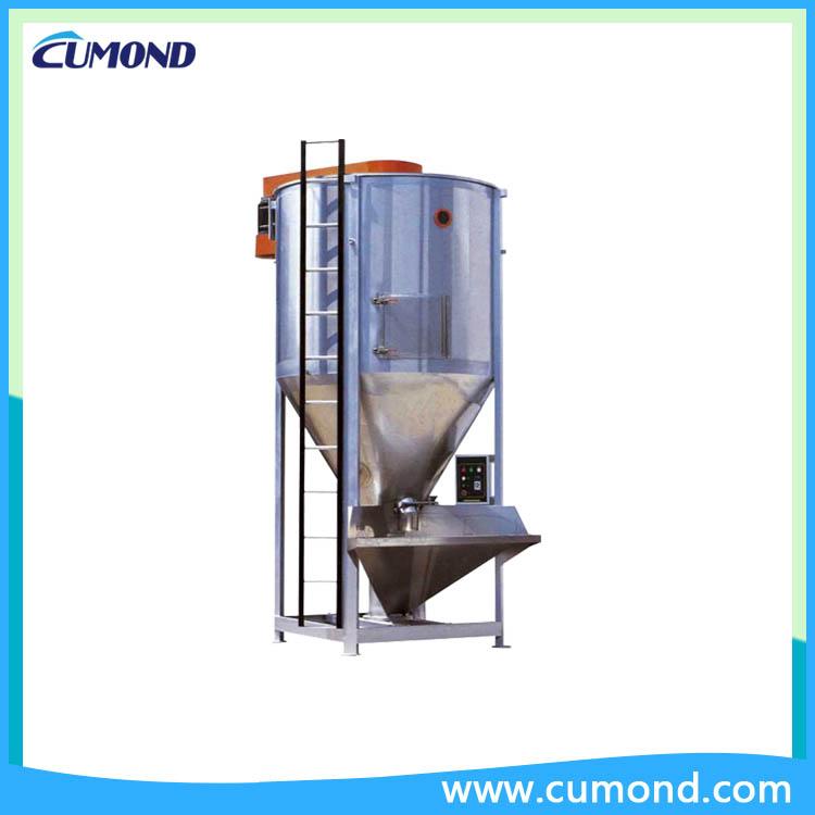 Industrial vertical feed mixer