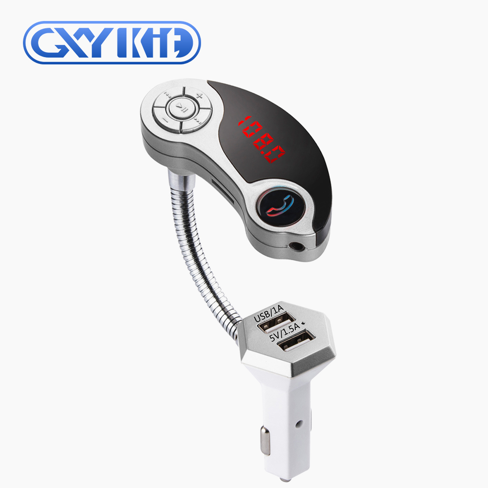 GXYKIT Wireless handsfree T10 Car Stereo Car Charger Bluetooth GT86 Bluetooth MP3 Transmitter