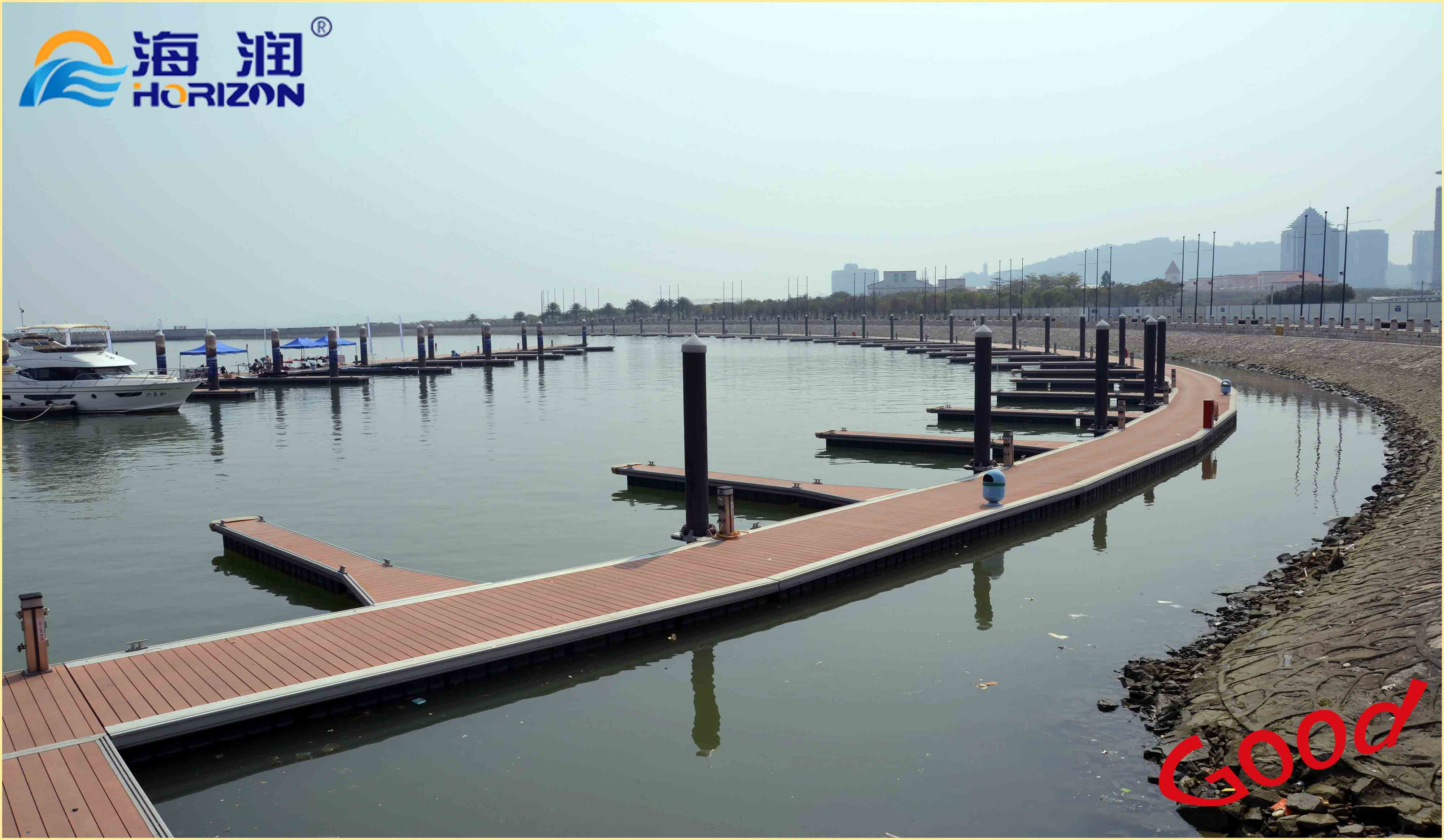 High quanlity floating dock/ floating pontoon from china