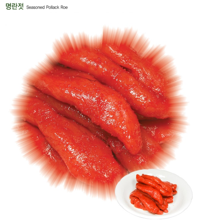 Korean Traditional Seasoned Pollack Roe