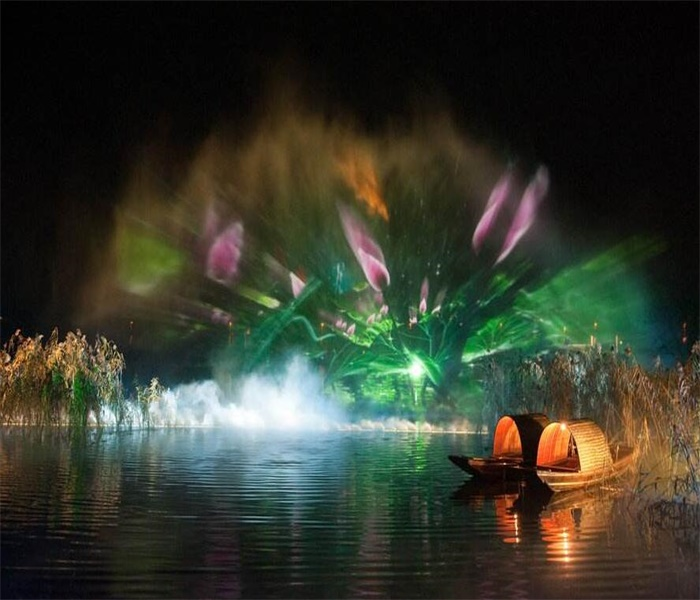 Scenic spot tourist attractions holographic water laser screen movie supplier