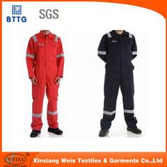 Flame Retardant Cotton Fire Suit Pass NFPA 2112
