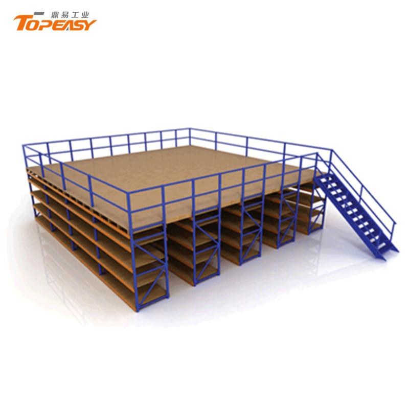 warehouse storage metal heavy duty mezzanine floor rack