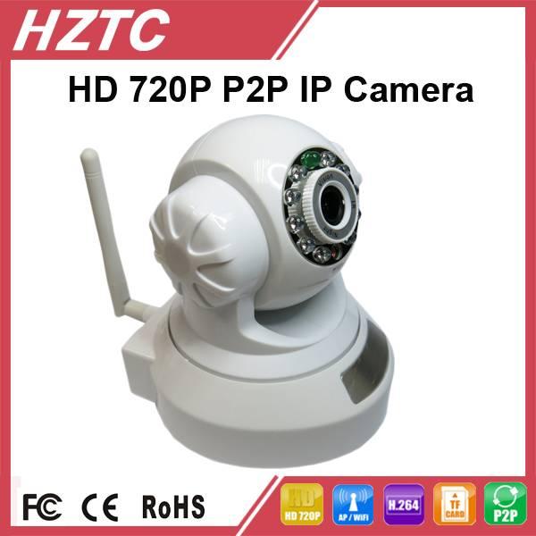 TC-IPC801-AR 720P WiFi Indoor pan/tilt IP Camera, H.264, IR-CUT, IR Distance 10m, SD Card Replay IP