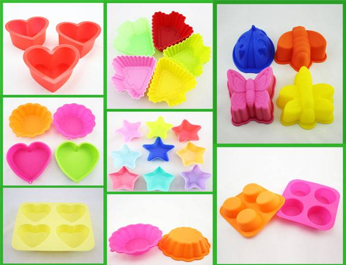 Heat resistant Silicone cake making tools / cake mold