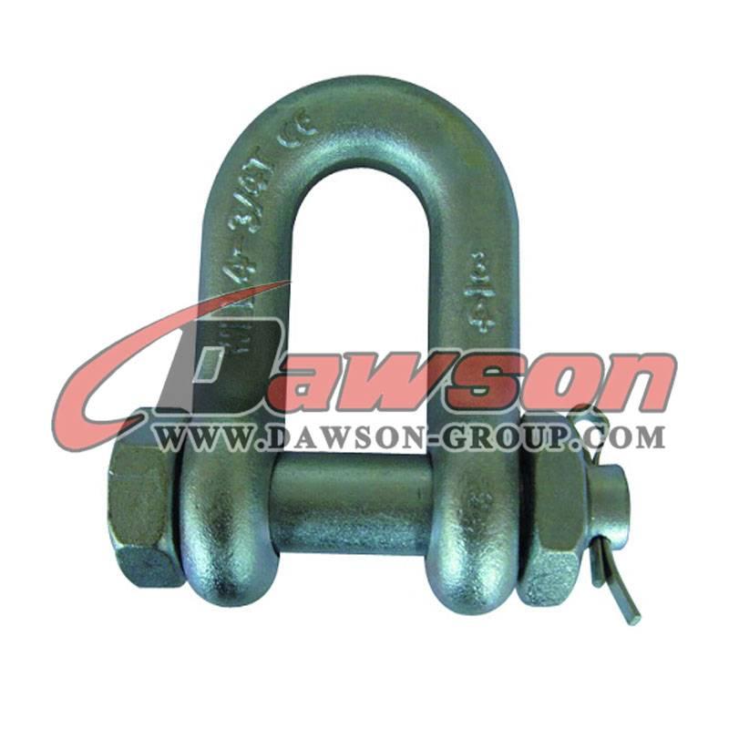 Ds363 U Shackle, Bolt Type, Carbon Steel Shackle