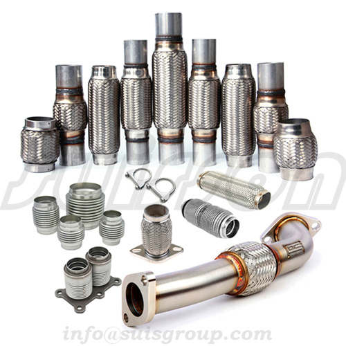 Exhaust Flex pipe , flexible hose, flexible Coupler, metal bellows, exhaust muffler pipe, Flexible C