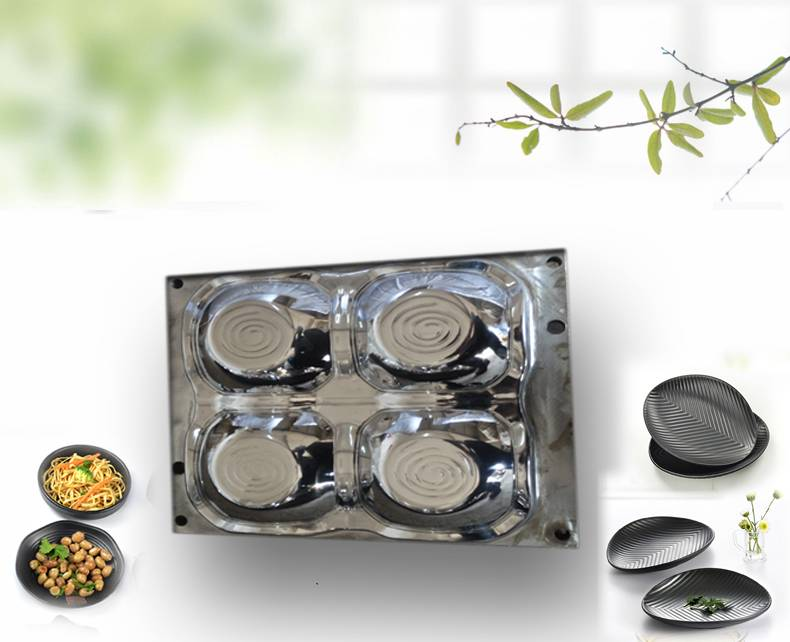 Melamine Tableware Mould Plastic Cutlery Tray Moulds