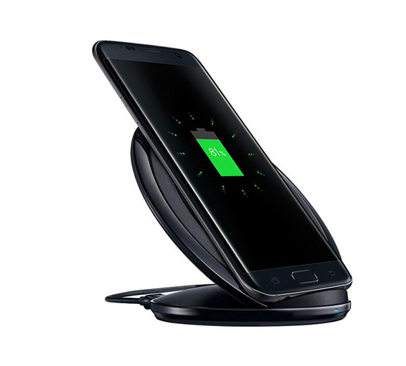 QI Wireless Charger Stand Fast Charging Pad Dock Holder For Samsung Galaxy S6 edge plus
