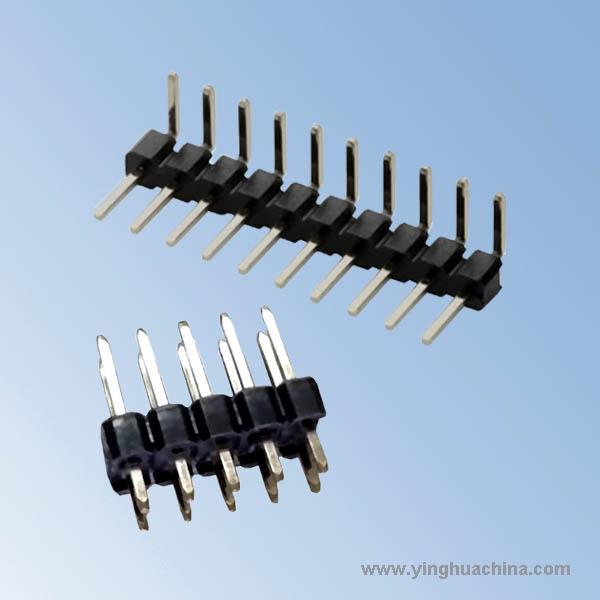Pin Header Socket 2.54 - Single/Dual Row H1.7 - Right Angle/Straight