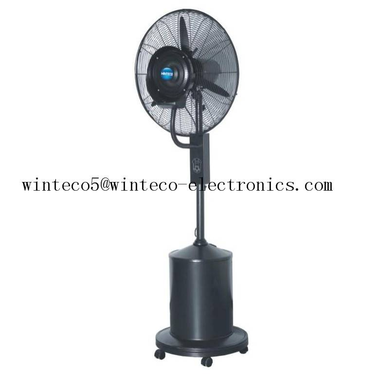 floor-standing centrifugal outdoor mist fan with remote control