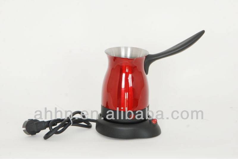 plastic low wattage 500W hot sale electric Turkish coffee maker
