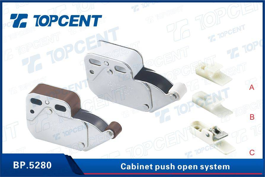 Furniture Cabinet Cupboard Mini Latches Metal Push Open Cabinet Door Magnetic Catches