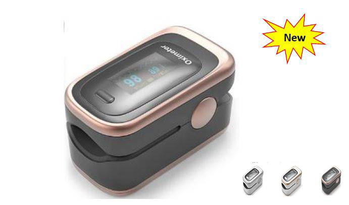 New Mold Fingertip Pulse Oximeter with OLED Screen