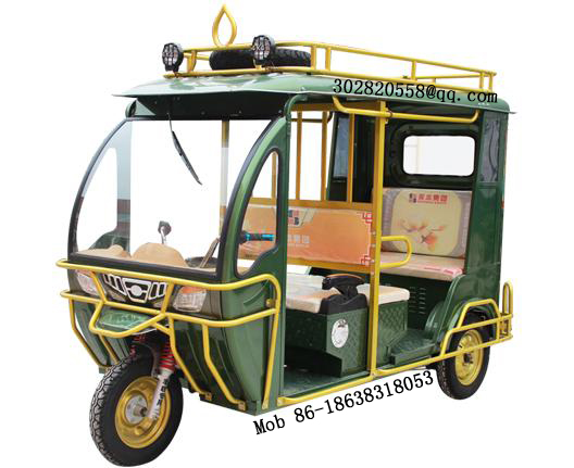 AKA8 electric battery tricycle to carry passenger, taxi tricycle