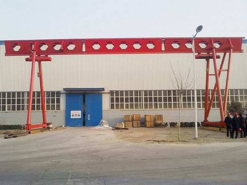MH16-30-9 single girder gantry crane