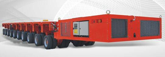 3m SELF-PPROPELLED MODULAR TRANSPORTER