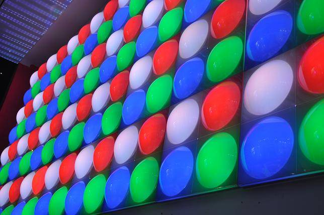 LED disco Bubble Panel