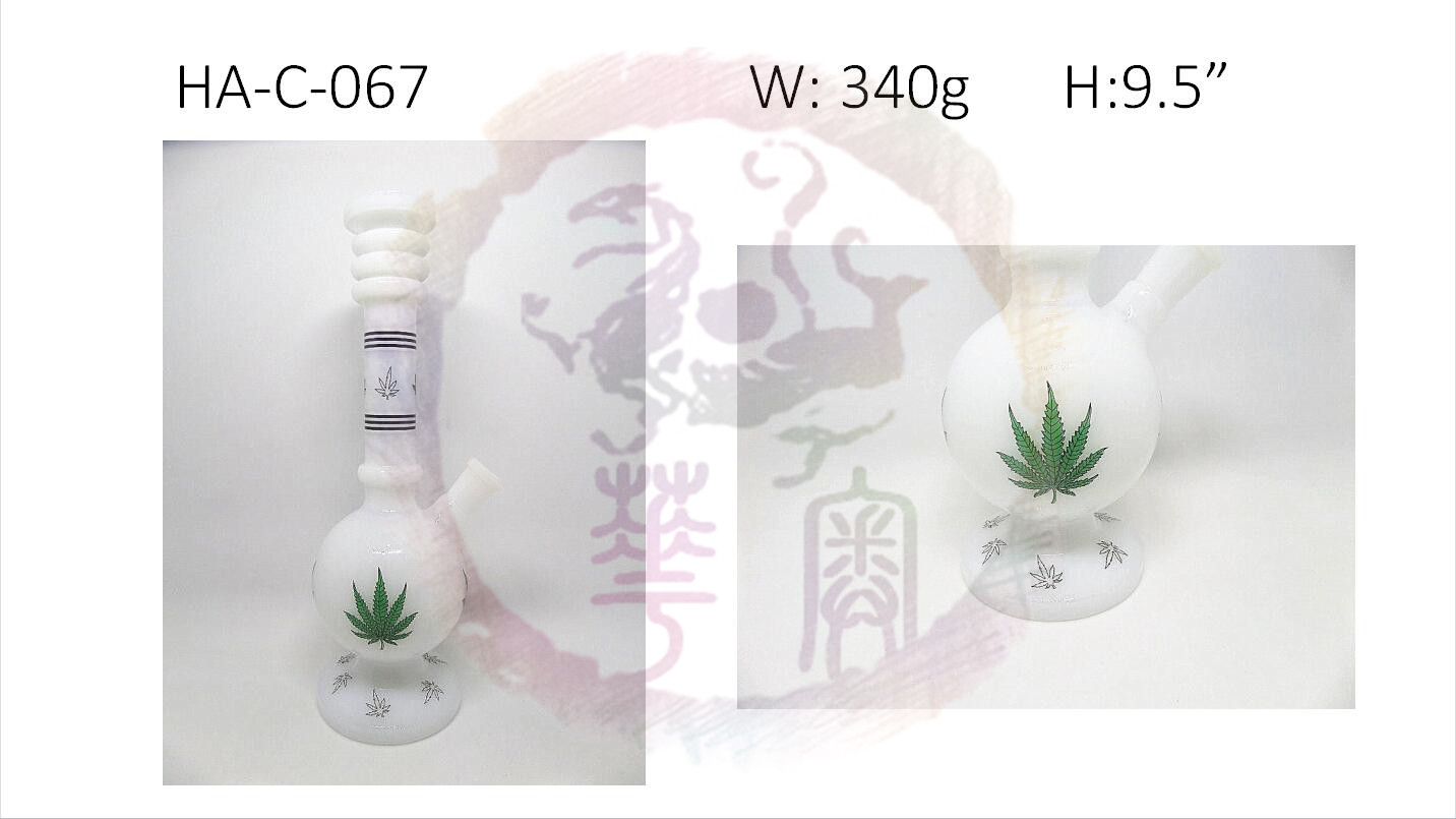 Ancient China Style the imitation of Chinese porcelain Glass Water Pipe Glass bong Water Bong smokin