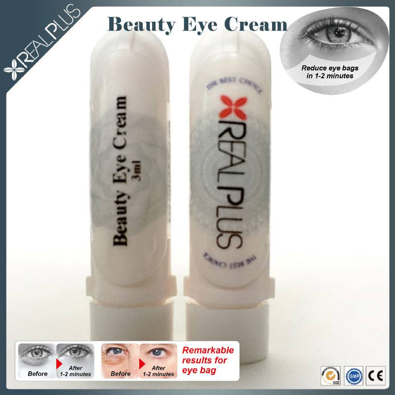 Chinese famous brand Real Plus free sample beauty cream under eye wrinkle treatment