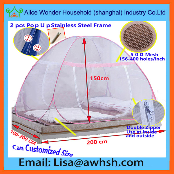 Double Bed Portable Foldable Mosquito Net