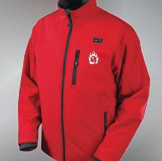 Battery heated thermo jacket