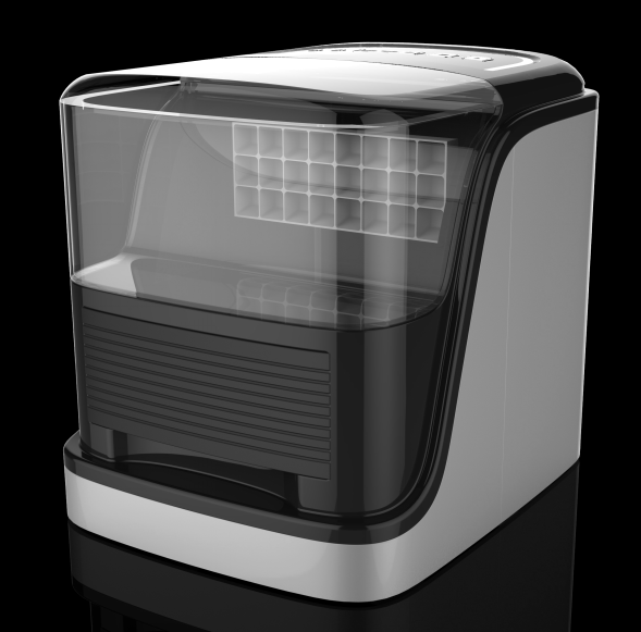 2017 Newly Come High quality Square Clear Ice Maker