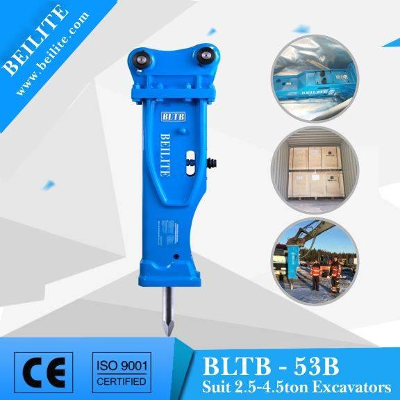 BLTB53 best buys mini hydraulic rock breaker hydraulic demolition hammer