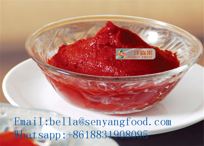 70g to 4500g tomato paste / fresh tomato ketchup