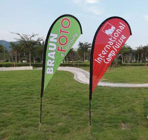 Custom flying banner, flying banner china, printed flying banner