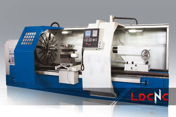 high quality CK61125 light duty CNC lathe machine