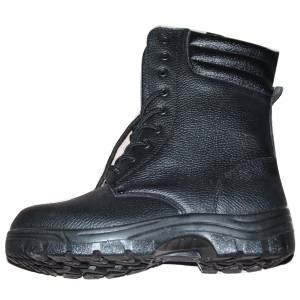 Genuine Leather Safety Work Boots