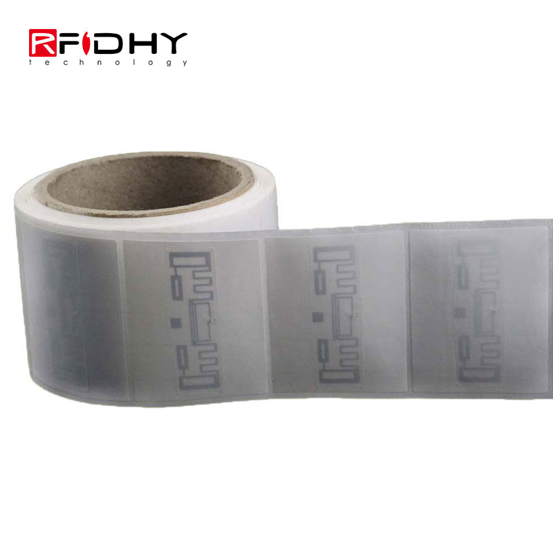 Roll Packaged UHF RFID PVC Sticker for Clothing Management