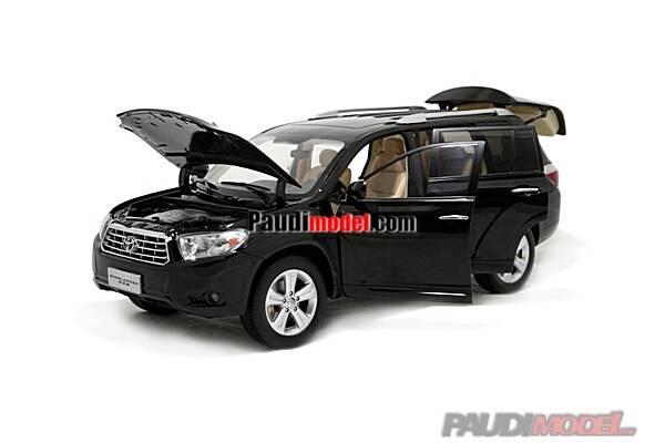 1/18 Toyota Highlander diecast model car Show Car, Miniature Cars, Metal car,  Gift, Toy Car, Mini C