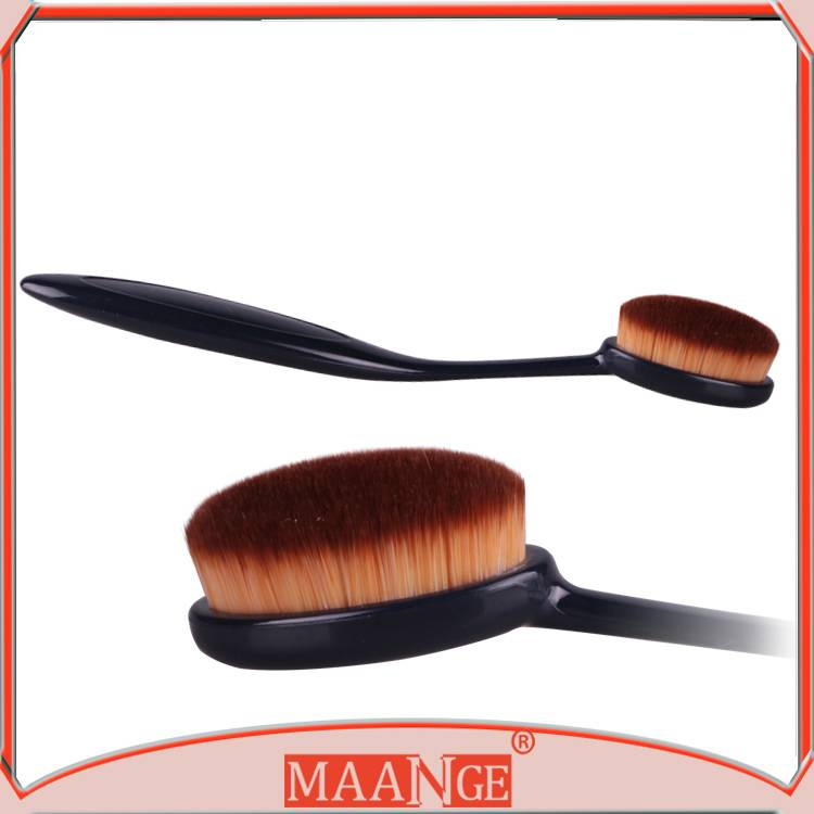 MAANGE Cosmetic tools Tooth Foundation Brush With Plastic Handle