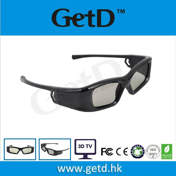 anaglyph 3d glasses for cinema watch movie GL410