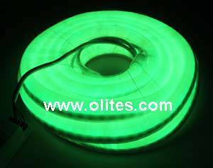 Green Color 12V,24V,120V,240V Mini LED Neon Flex