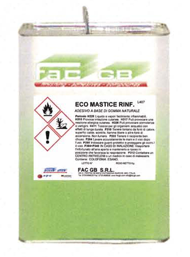Ecological Natural Rubber Based Adhesive