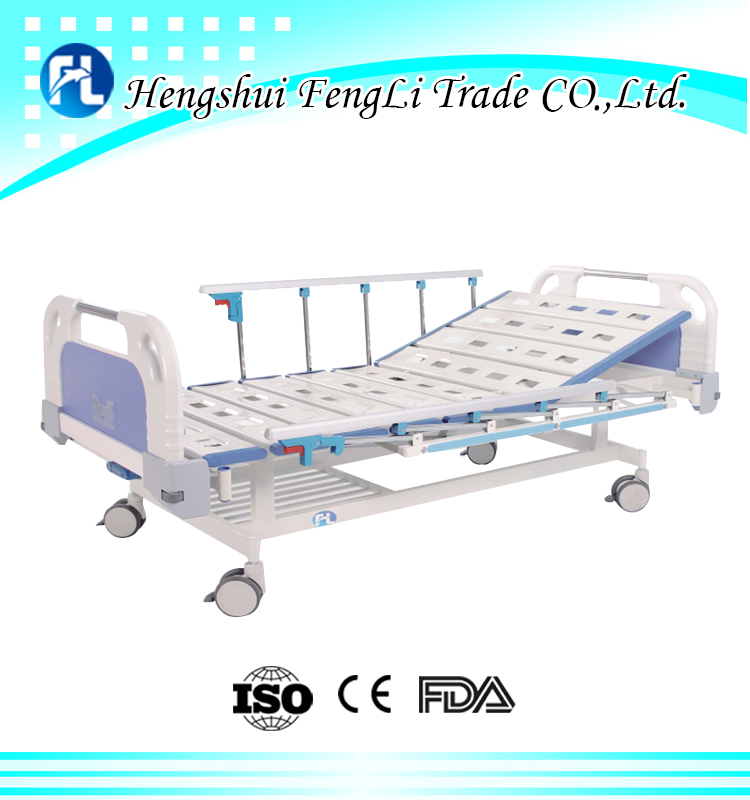 1 crank manual hospital bed medical bed with factory price