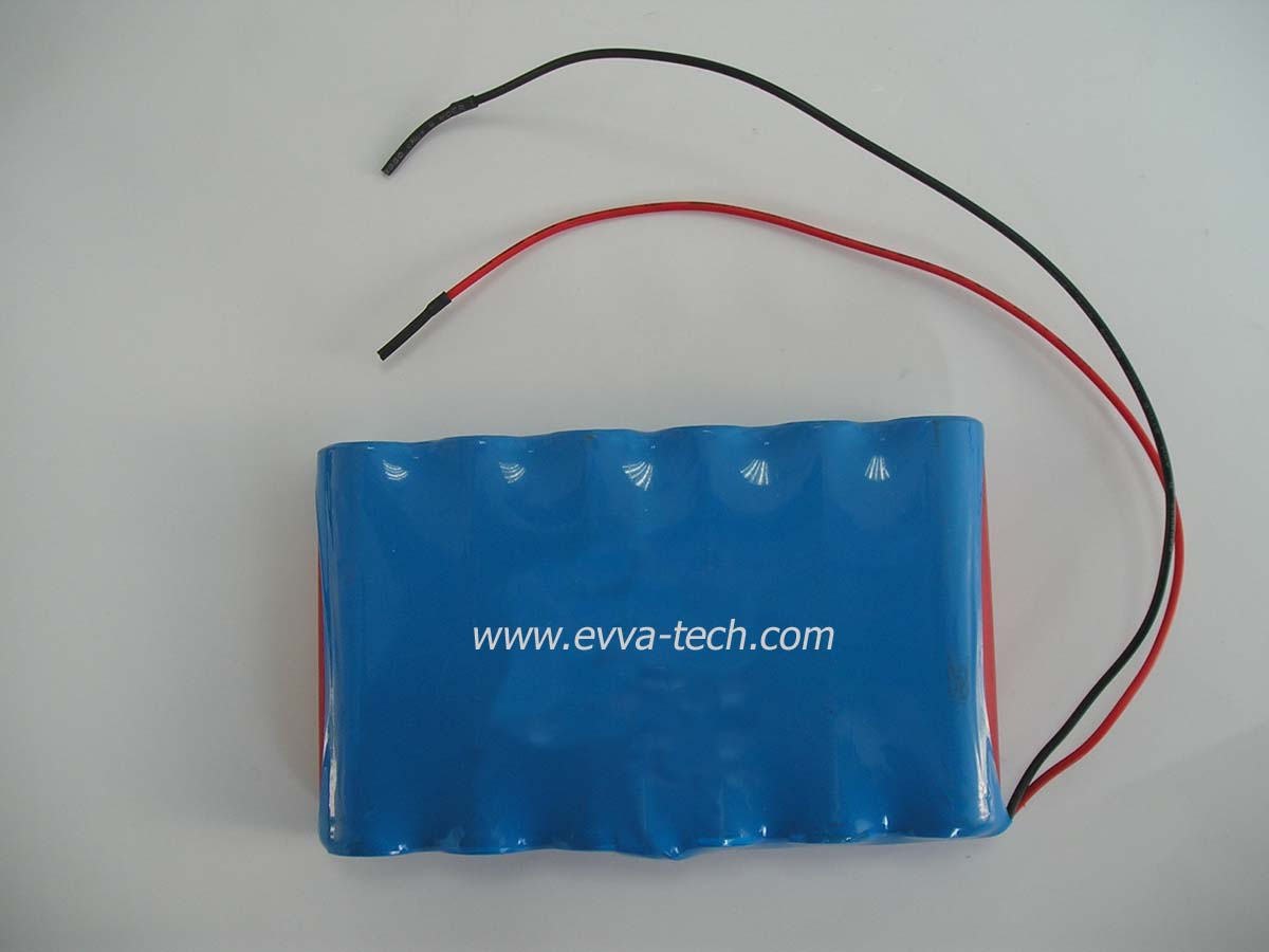 Battery Pack with 18650 6S1P 22.2V 2600mAh
