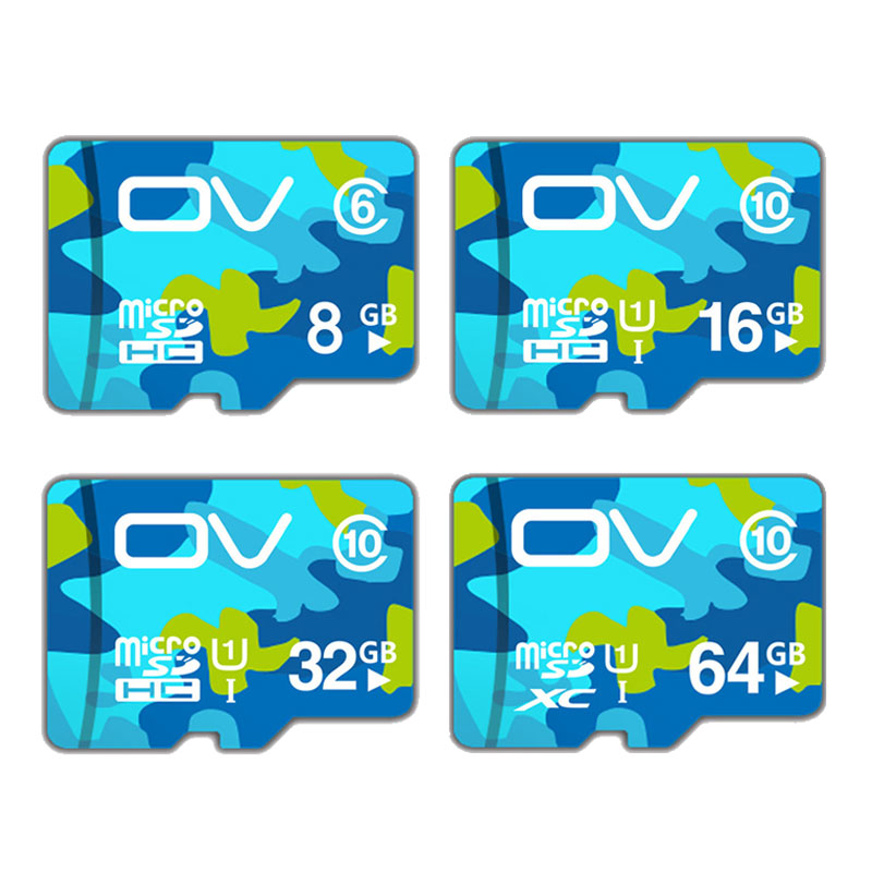 OV Micro SD Card 32GB Class10 Memory Card 64G/32G/16G Mikro sd Card, Flash Memory Card 8GB Class6 Fo